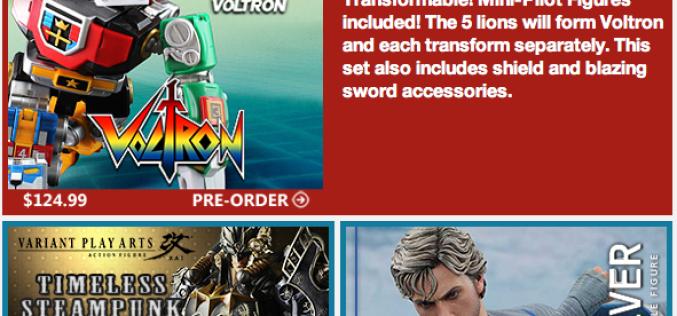BigBadToyStore Update –  Voltron, Batman, Age Of Ultron, Disney's Descendants, SH Figuarts, Star Wars, GI Joe & More