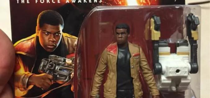 Hasbro Star Wars The Force Awakens Finn & Flametrooper Carded Figure Images