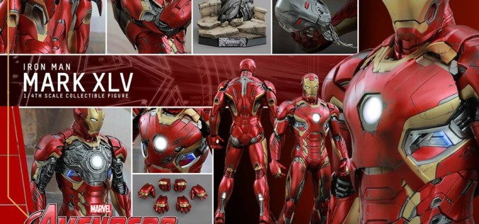 Hot Toys Avengers Age Of Ultron Mark XLV Sixth Scale Figure