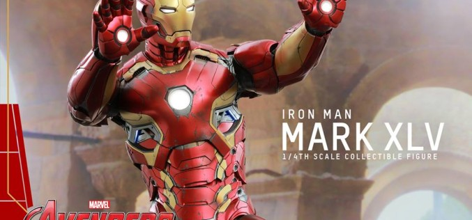 Hot Toys Iron Man Mark XLV Quarter Scale Figure Pre-Orders