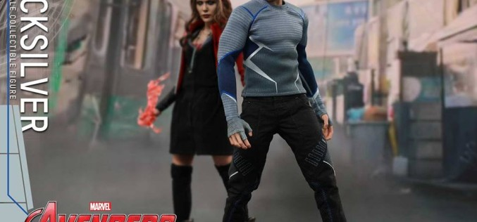 Hot Toys Avengers: Age Of Ultron Quicksilver Sixth Scale Figure