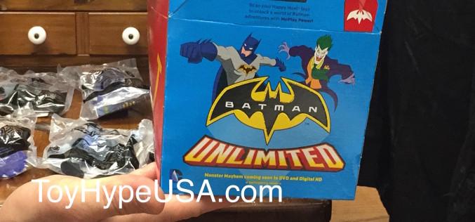 McDonalds Batman Unlimited Toys Video Review