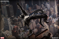 Sideshow Symbiote Spider-Man Premium Format Figure Official Details & Images