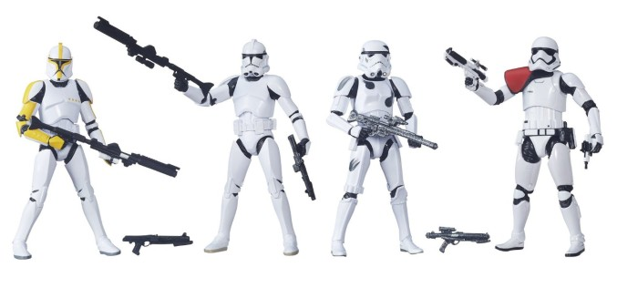 HURRY – Amazon Exclusive Hasbro Star Wars The Black Series 6″ Stormtrooper 4 Pack Back In Stock