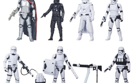 Amazon Exclusive Hasbro Star Wars The Force Awakens 3.75-Inch Figure Troop Builder 6-Pack