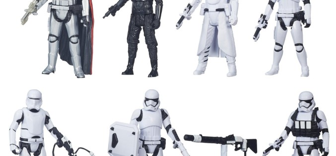 Amazon Exclusive Hasbro The Force Awakens 3.75″ Figure 7 Pack Delayed Until January 30th, 2016