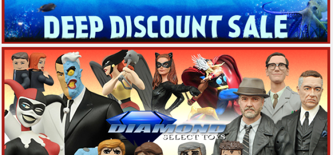 BigBadToyStore Update – Deep Discount Sale, Diamond Select, Judge Dredd, DBZ, Game Of Thrones, DC, Metal Gear Solid & More