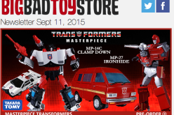 BigBadToyStore Update – TF Masterpiece, Star Wars, Getter Robo, 300, Batman, Resident Evil, TMNT & More