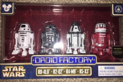 Disney Parks Exclusive Star Wars Astromech Droid Factory Astrodroid Box Set