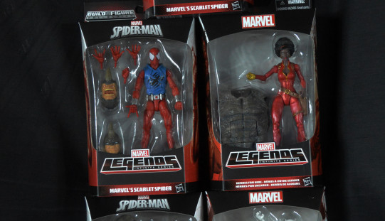 8 Hours Left To Enter Our Exclusive Marvel Legends Spider-Man Infinite Series Rhino Wave Set Of 5 Giveaway