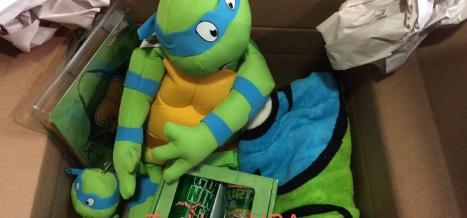 Teenage Mutant Ninja Turtles Box Of Goodies Contest Winner Announced