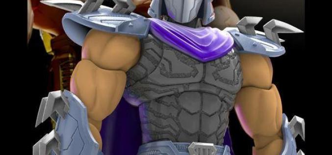 First Gokin Teenage Mutant Ninja Turtles NT-03 Shredder New Image