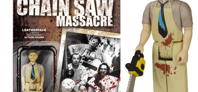 Funko Texas Chainsaw Massacre Leatherface ReAction Figure