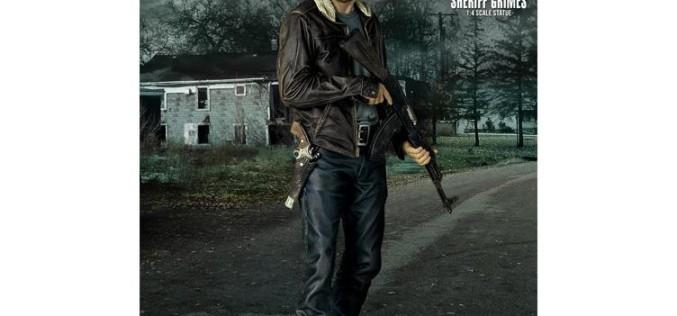 Gentle Giant The Walking Dead Rick Grimes 1/4″ Scale Statue