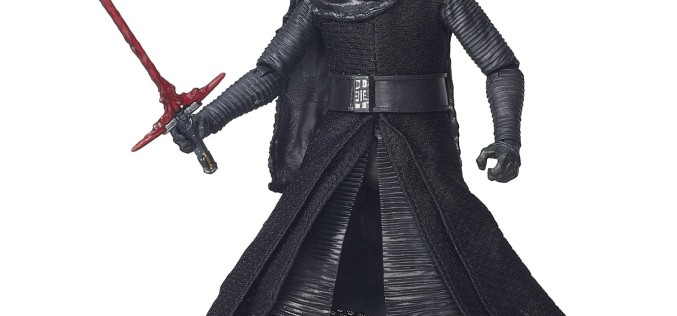 Hasbro Star Wars The Black Series 6″ Kylo Ren In Stock At Amazon For $19.99