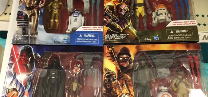 Hasbro Star Wars The Force Awakens Darth Vader/Asoka Tano 2-Pack Found At U.S. Retail