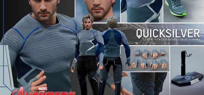 Hot Toys Avengers: Age Of Ultron Quicksilver Sixth Scale Figure Pre-Orders