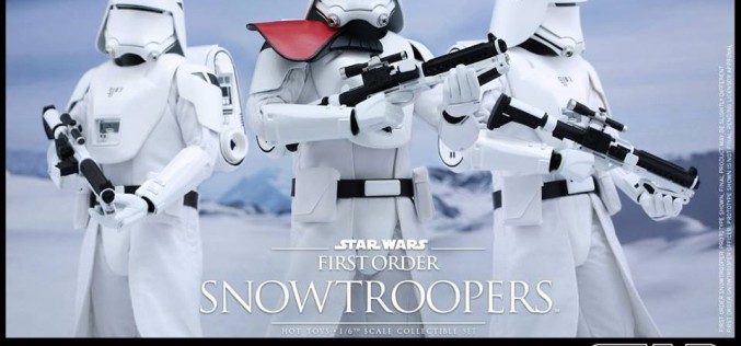 Hot Toys The Force Awakens First Order Snowtrooper Sixth Scale Figures Announced
