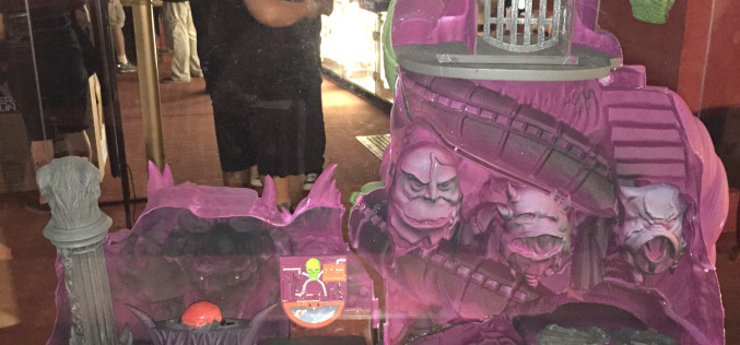 Masters Of The Universe Classics Interior Images Of Snake Mountain