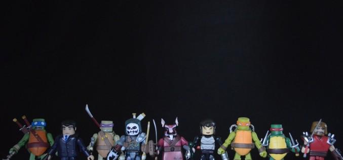 Nickelodeon Teenage Mutant Ninja Turtles Minimates Wave 2 Blind Bag Figure Review