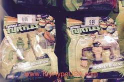 """Nickelodeon Teenage Mutant Ninja Turtles Napoleon Bonafrog & Monkey Brains Figures Found At Toys """"R"""" Us"""