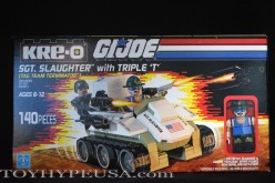 SDCC 2015 Exclusive Hasbro G.I. Joe Kre-O Sgt. Slaughter Marauders Vs. Destro Iron Grenadiers Box Set Review