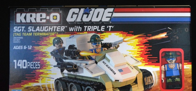 SDCC 2015 Exclusive Hasbro G.I. Joe Kre-O Sgt. Slaughter Marauders Vs. Destro Iron Grenadiers Box Set Review