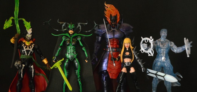 SDCC 2015 Exclusive Hasbro Marvel Legends Book Of The Vishanti Box Set Review