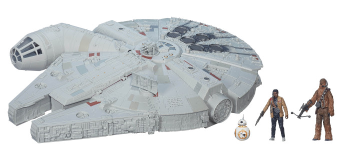 The Force Awakens Battle Action Millennium Falcon In Stock At Wal-Mart