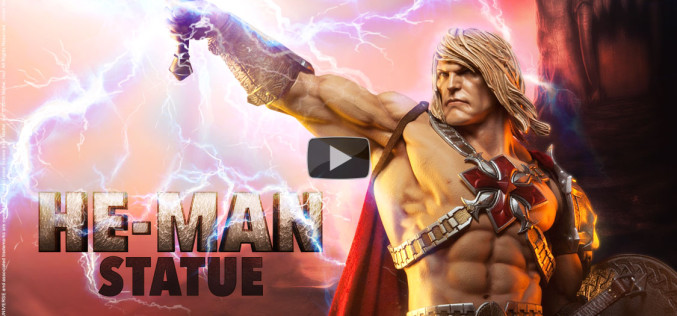 Sideshow Masters Of The Universe He-Man Statue Preview