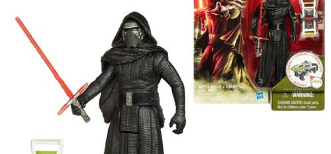 Entertainment Earth Update – Star Wars: Episode VII – The Force Awakens 3 3/4-Inch Jungle & Space Kylo Ren Action Figure
