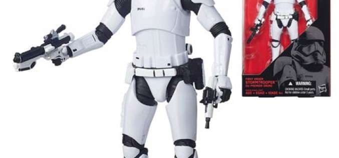 Entertainment Earth Update – Star Wars Episode VII – The Force Awakens The Black Series 6″ First Order Stormtrooper Pre-Orders