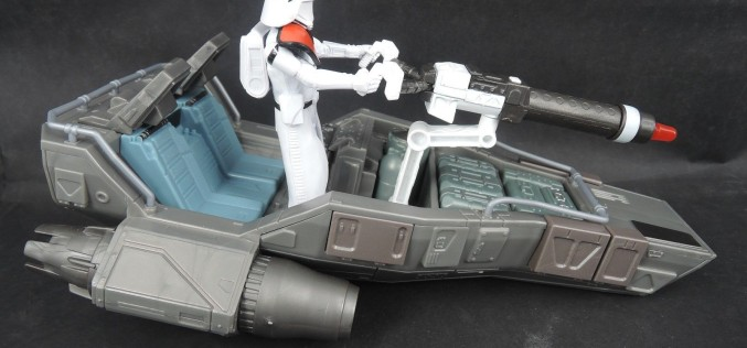 Star Wars The Force Awakens Hasbro Snowspeeder With FO Snowtrooper Officer