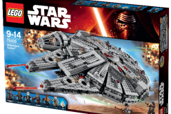 LEGO Reveals Star Wars: The Force Awakens The Millennium Falcon Set & More