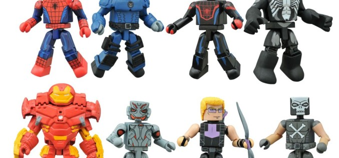 Walgreens Exclusive Marvel Animated Minimates Series 1.5