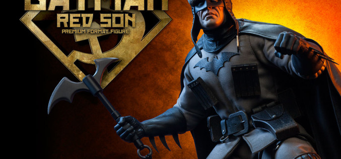 Sideshow Collectibles Batman 'Red Son' Premium Format Figure Details & Images