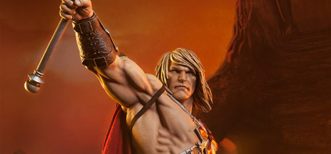 Masters Of The Universe He-Man Statue Pre-Orders Are Live