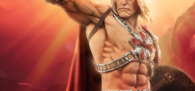 Sideshow's Masters Of The Universe He-Man Statue New Details & Images