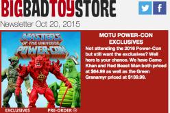 BBTS News: MOTU, Dragonball Z, Star Wars, AVP, Digimon, TMNT, Power Rangers & More