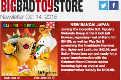 BBTS News: Super Mario, Star Wars, Punisher, Aliens, Doctor Who, Marvel & More
