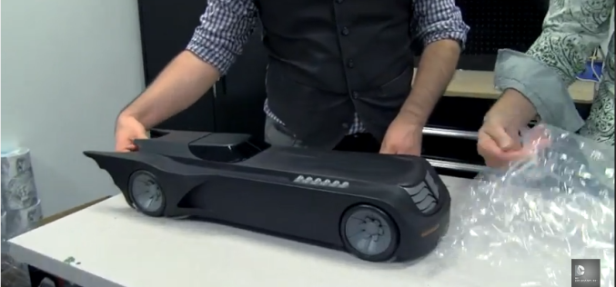 DC Collectibles – Batman: The Animated Series Batmobile Unboxing Video