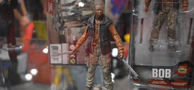 NYCC 2015 – McFarlane Toys Booth Coverage – The Walking Dead TV Series 8