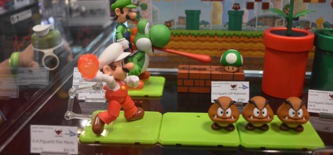 NYCC 2015 – Bluefin S.H. Figuarts Super Mario Bros.