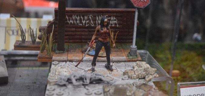 NYCC 2015 – McFarlane Toys The Walking Dead Building Sets