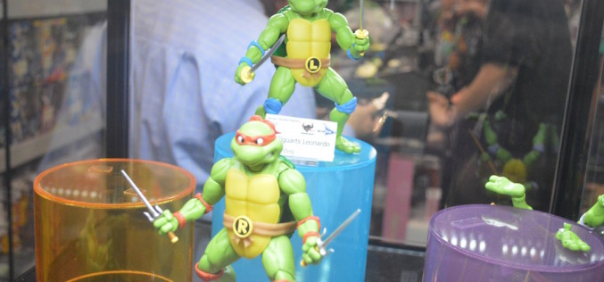 NYCC 2015 – S.H. Figuarts Teenage Mutant Ninja Turtles