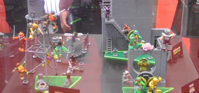 NYCC 2015 – Mega Bloks Teenage Mutant Ninja Turtles Building Sets