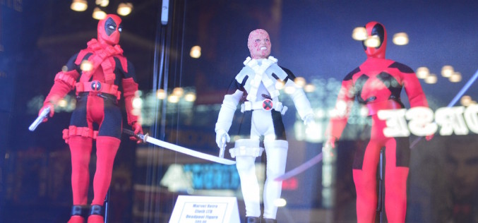 NYCC 2015 – Diamond Select Toys Booth Coverage