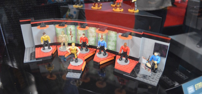 NYCC 2015 – Mega Bloks Star Trek Building Sets
