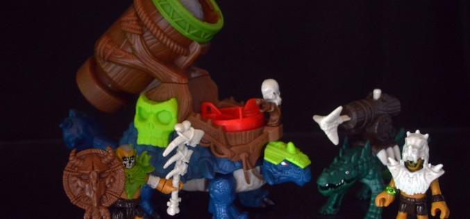 Fisher-Price Imaginex Ankylosaurus & Saharicus Review