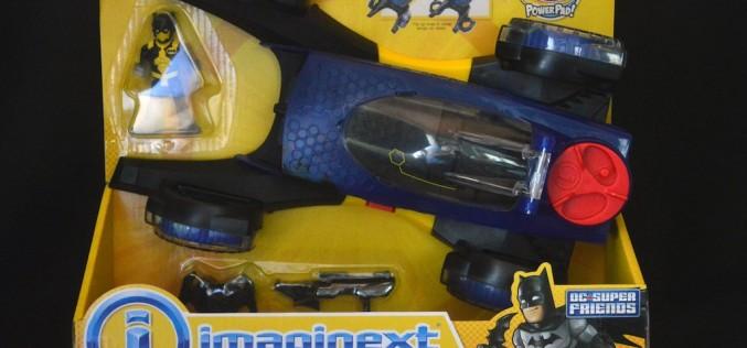 Fisher Price Imaginext DC Super Friends Transforming Batmobile Review